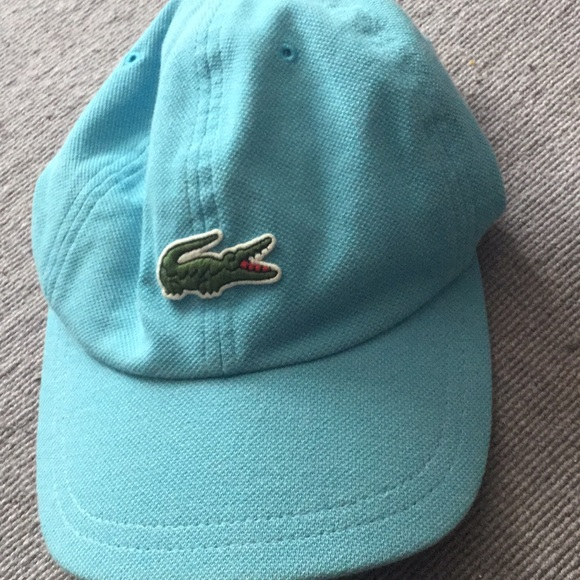 0498c318 Lacoste Accessories | Original Cap Light Blue | Poshmark